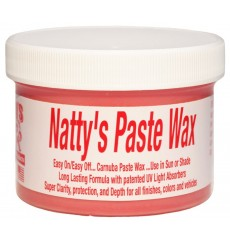 POORBOY'S WORLD Natty's Paste Wax Red 227g + MIKROFIBRA GRATIS
