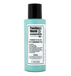POORBOY'S WORLD Polish with Carnauba Wax Blue - Tester 118ml