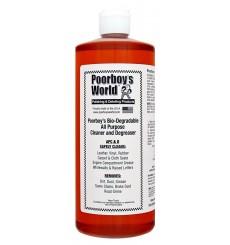 POORBOY'S WORLD Bio-Degradable All Purpose Cleaner & Degreaser 946ml + MIKROFIBRA GRATIS