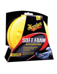 MEGUIAR'S Soft Foam Applicator Pad 2-pak