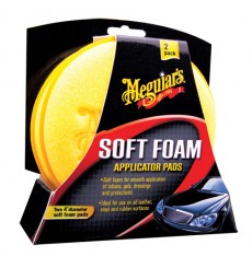 MEGUIAR'S Soft Foam Applicator Pad 2-pak