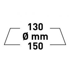 Rupes Big Foot Gąbka Medium 130/150 mm Zielona