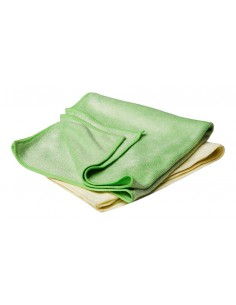 FLEXIPADS Buffing Yellow & Green Towel