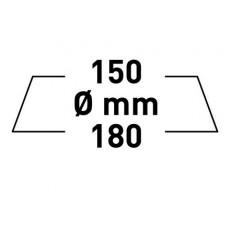 RUPES BIG FOOT GĄBKA ULTRAFINE 150/180 MM BIAŁA