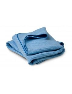 FLEXIPADS Ręcznik do osuszania 75 x 60cm Niebieski Wafel 2 szt