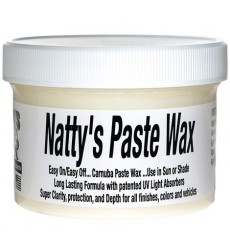 POORBOY'S WORLD Natty's Paste Wax White 227g + MIKROFIBRA GRATIS