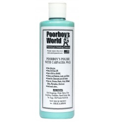 POORBOY'S WORLD Polish with Carnauba Wax Blue 473ml + APLIKATOR GRATIS