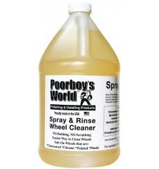 POORBOY'S WORLD Spray & Rinse Wheel Cleaner (3,8L)
