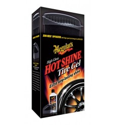 MEGUIAR'S Hot Shine Tire Gel Kit (355ml + aplikator)