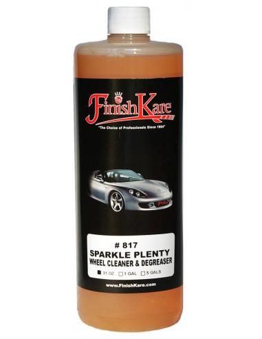FINISH KARE 817 Sparkle Plenty Wheel Cleaner & Degreaser 916ml
