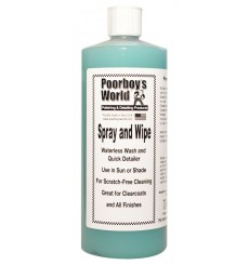 POORBOY'S WORLD Spray & Wipe Waterless Wash 946ml