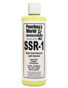 POORBOY?S WORLD SSR 1 Light Abrasive Swirl Remover