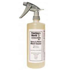 POORBOY'S WORLD Spray & Rinse Wheel Cleaner  946ml