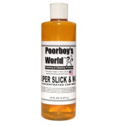 POORBOY'S WORLD Super Slick & Wax 473ml