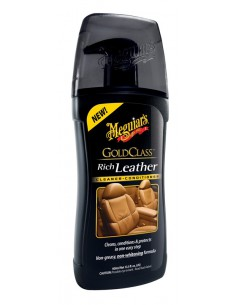 MEGUIAR`S Gold Class Rich Leather Cleaner & Conditioner 414ml