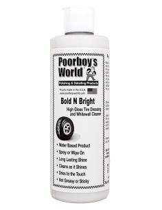 POORBOY'S WORLD Bold N Bright Tire Dressing 473ml