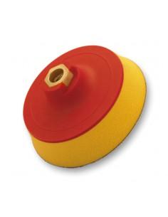 FLEXIPADS Talerz mocujący 125mm z rzepem, gwint M14, Soft-żółty