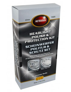 AUTOSOL Headlight Polish & Protection Kit