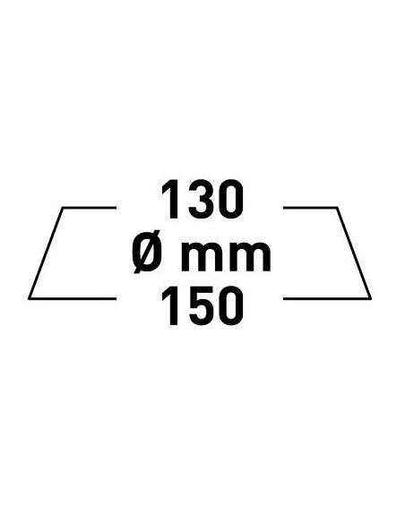 Rupes Big Foot pad z mikrofibry FINE 130/150mm Zółty