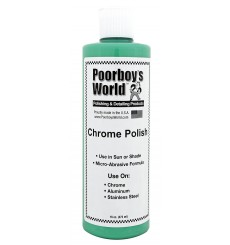POORBOY'S WORLD CHROME POLISH 473ml