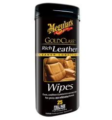 MEGUIAR'S Gold Class Rich Leather Wipes