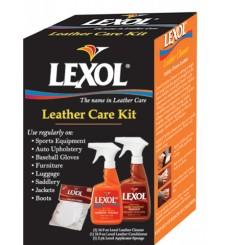 LEXOL Leather Care Kit /2x 500ml + 2x aplikator