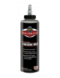 MEGUIAR'S DA Microfiber Finishing Wax 16oz