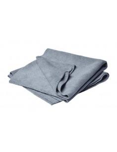 """FLEXIPADS Ręcznik z mikrofibry """"Seampless"""" Niebieski 40x40cm"""