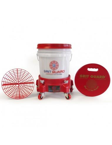 GRIT GUARD Complete Washing System - Czerwony