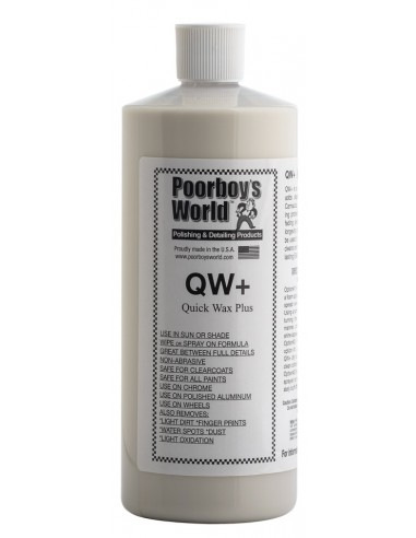 POORBOY'S WORLD Quick Wax Plus QW+