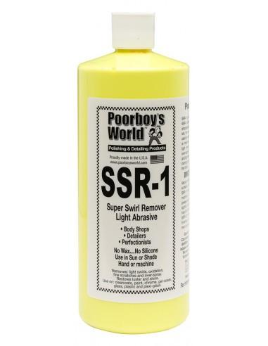 POORBOY'S WORLD SSR 1 Light Abrasive Swirl Remover 946 ml