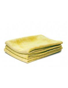 POORBOY'S WORLD Velvet Smooth Glass Yellow 40x40 cm