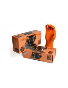 ORANGE MAMBA Nitrile Gloves...