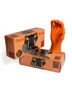ORANGE MAMBA Nitrile Gloves...