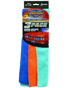 SURF CITY GARAGE Nano-Detail Polishing Cloths 3-pak