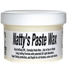 POORBOY'S WORLD Natty's Paste Wax White 227g + MIKROFIBRA GRATIS