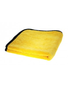 COBRA Gold Plush Jr. Microfiber Towel - żółta / 40cm x 40cm