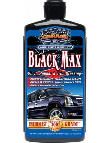 SURF CITY GARAGE Black Max Vinyl, Rubber & Trim Dressing 473ml