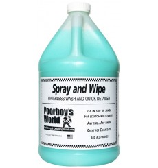 POORBOY`S WORLD Spray & Wipe Waterless Wash 3,8L