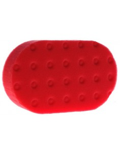 Red Ultra Soft CCS Euro Hand Applicator Pad ? Czerwony