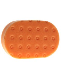 Orange Light Cutting CCS Euro Hand Applicator Pad Pomarańczowy