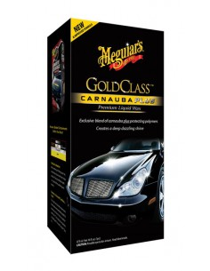 MEGUIAR'S Gold Class Carnauba Plus Premium Liquid Wax 473ml